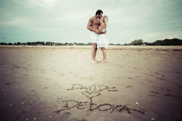 Debora e Davide servizio coppia a jesolo