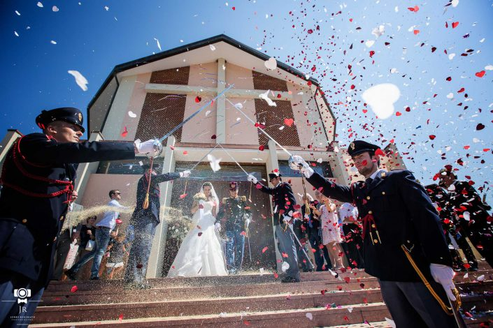 matrimonio polizia carabinieri