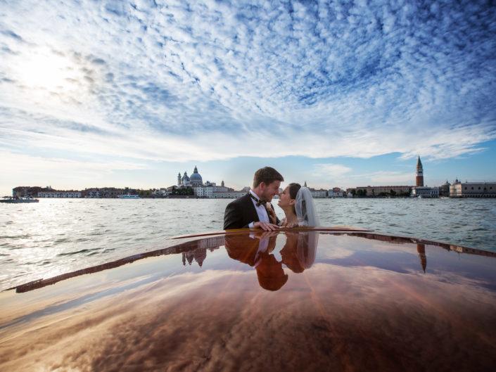 Matrimonio a Venezia Camila e Tom